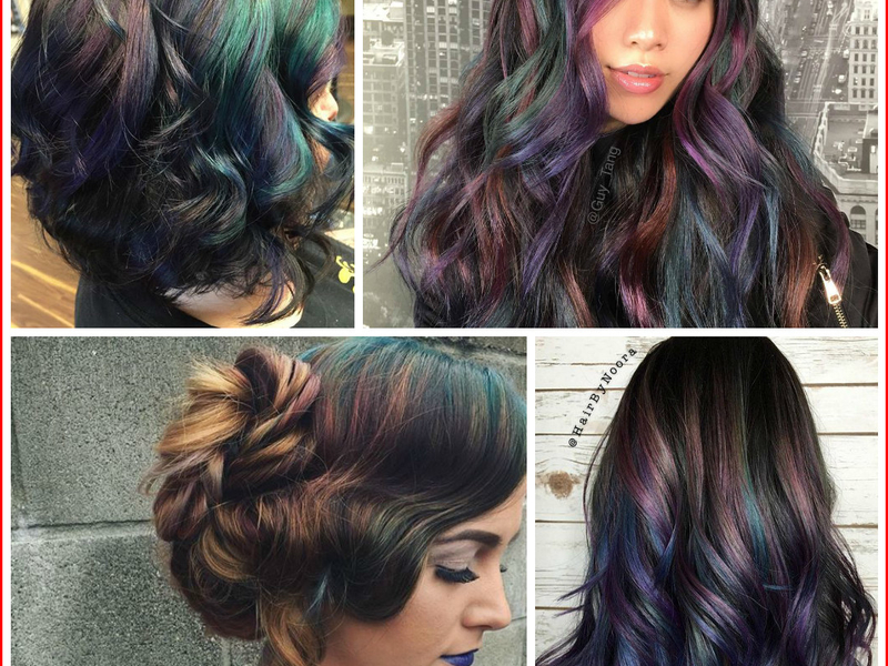Bold Hair Color Ideas 2018