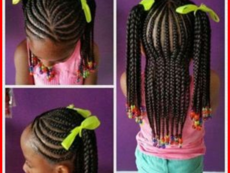 little black girl braid hairstyles with beads - Best Kids ...