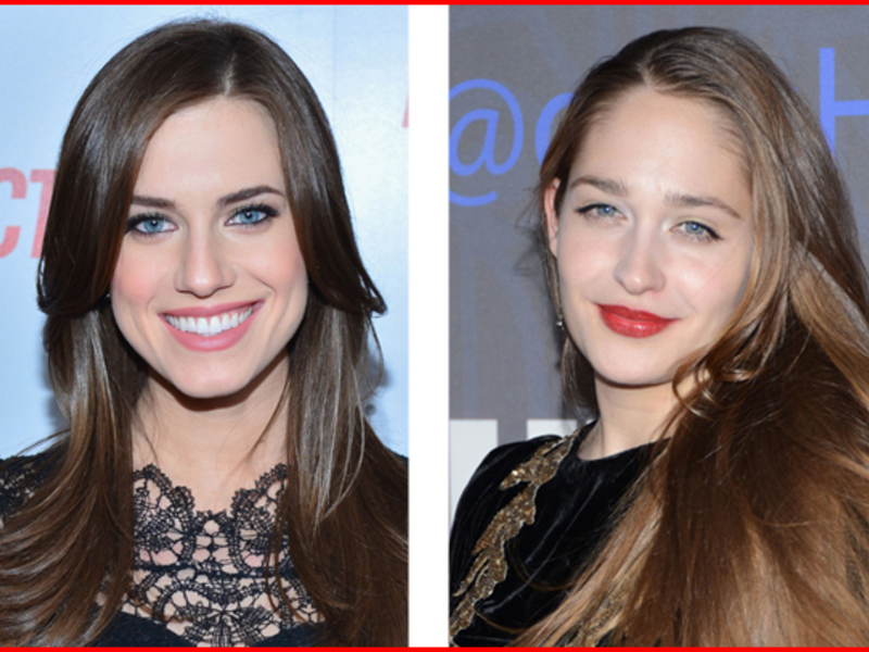 Center and Side Parting Hairstyles