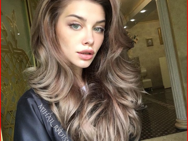Glamorous Hairstyles - The Most Beautiful Ideas