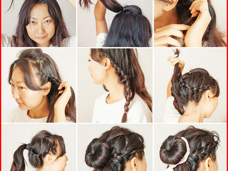 Hairstyles for Girls With Medium Hair